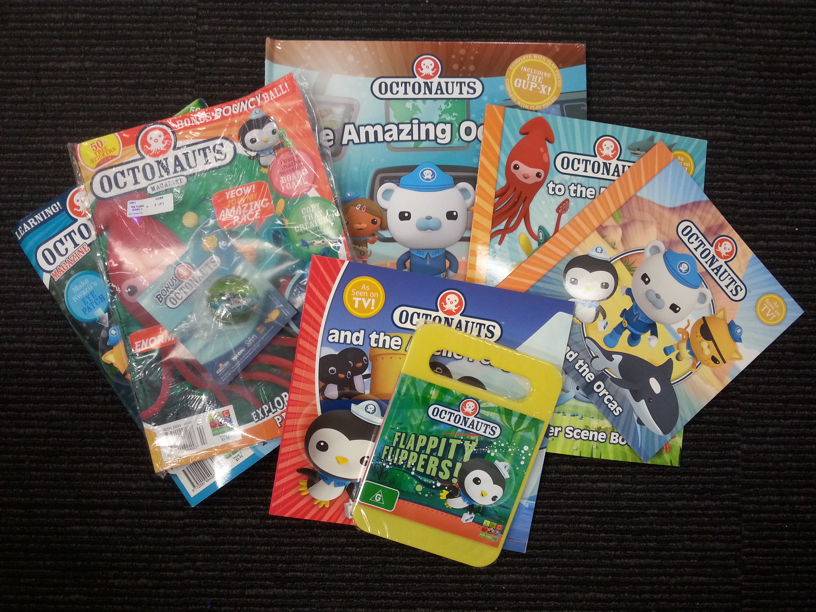 Octonauts prize pack