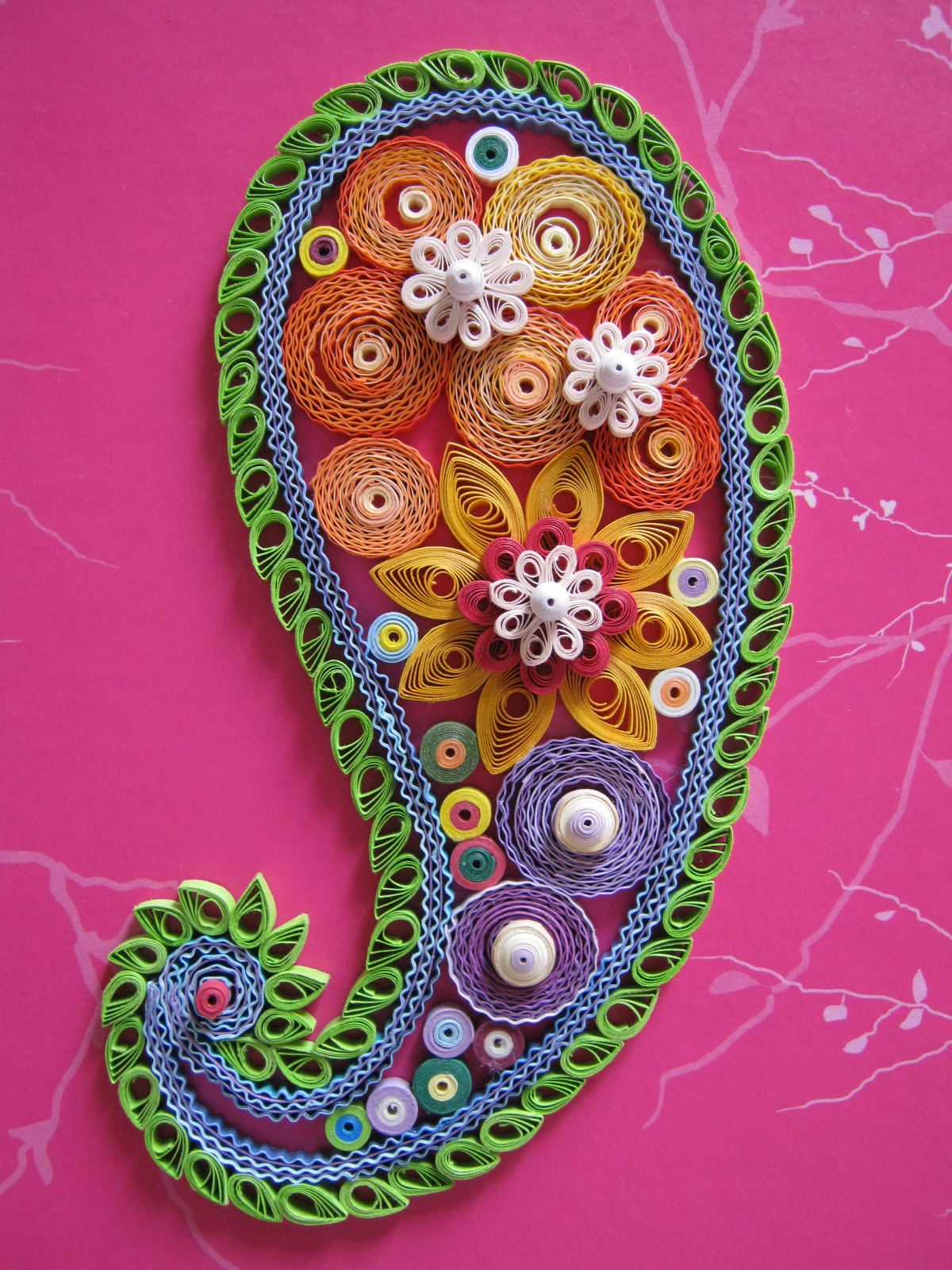 Colourful paisley - Christine Donehue