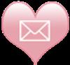 socialmedia icons heart email