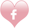 socialmedia icons heart facebook