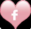 socialmedia icons heart facebook