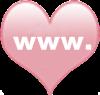 socialmedia icons heart website
