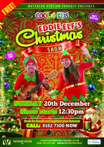 Cool4Kids Eddie Elf Xmas Show A3 Posters PROOF (3)