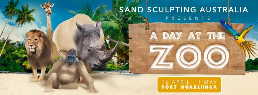 sand sculpt zoo