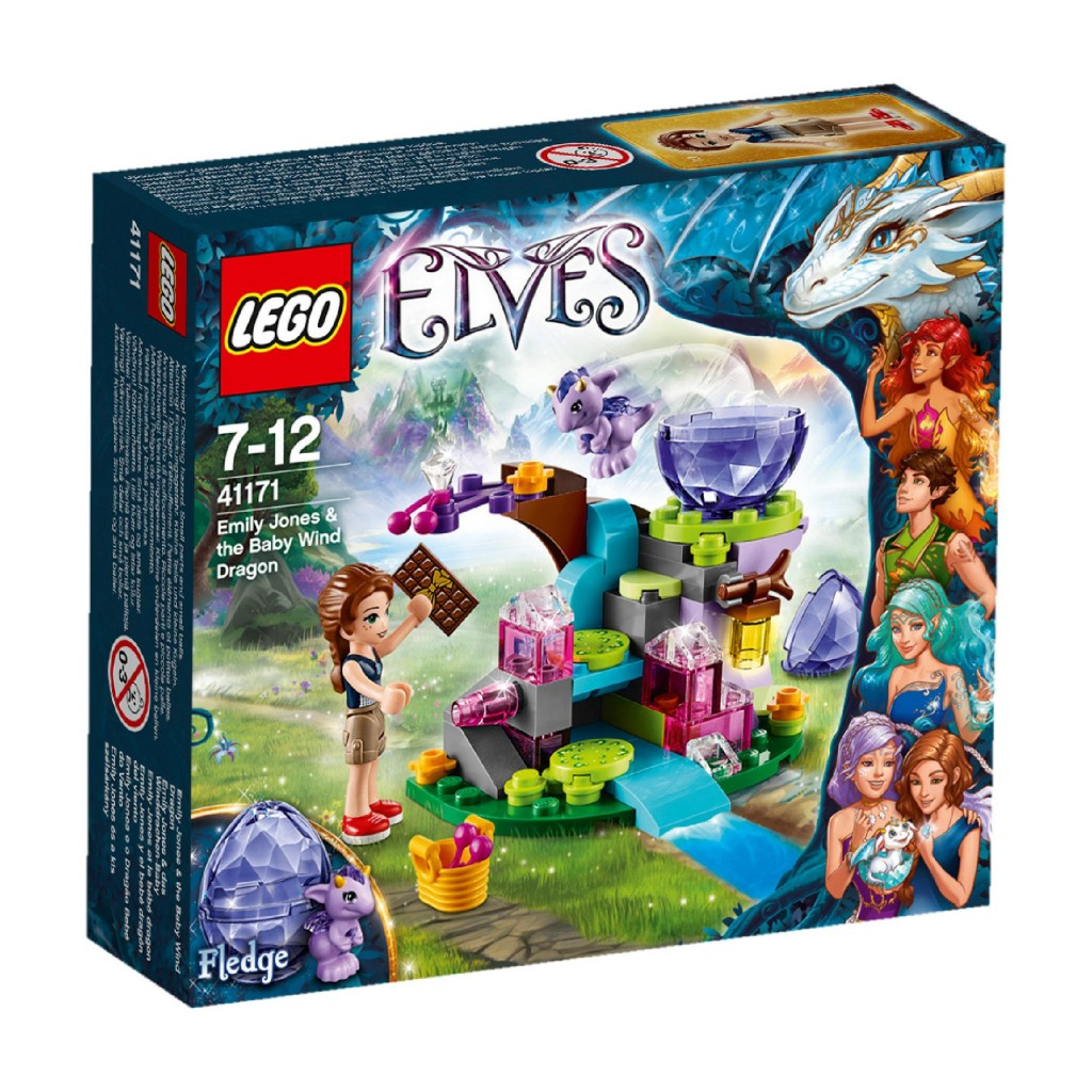 Lego Elves- Emily Jones and the Baby Wind Dragon