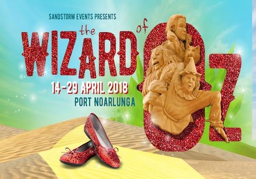 sand sculpt wizard oz