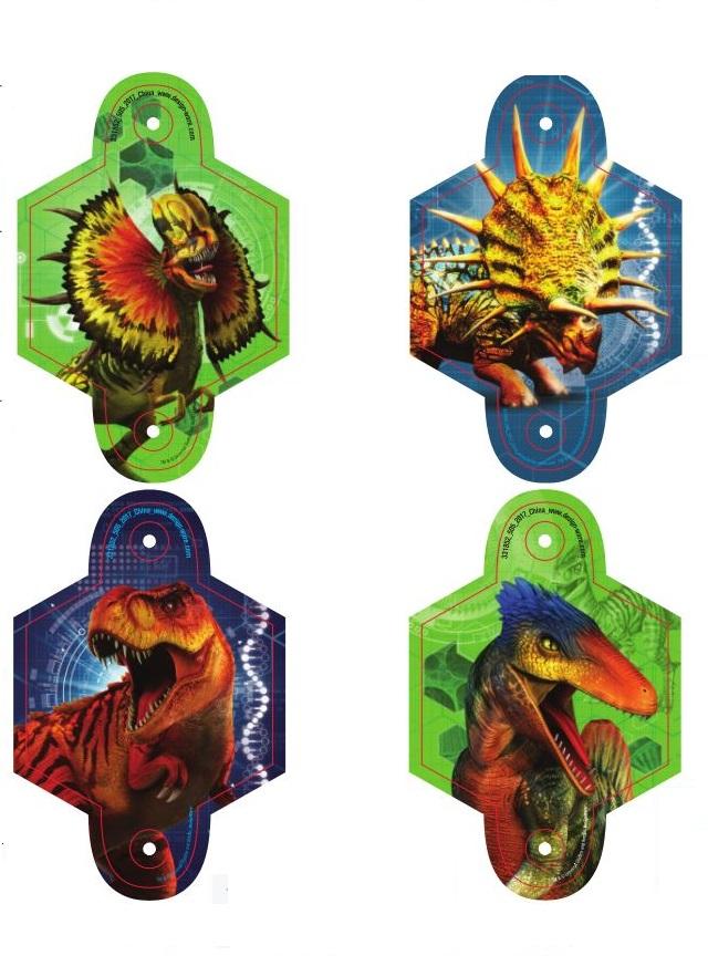Jurassic World Blowouts, RRP $3.00