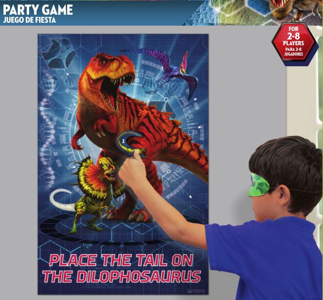 Jurassic World Party Game, RRP $8.00